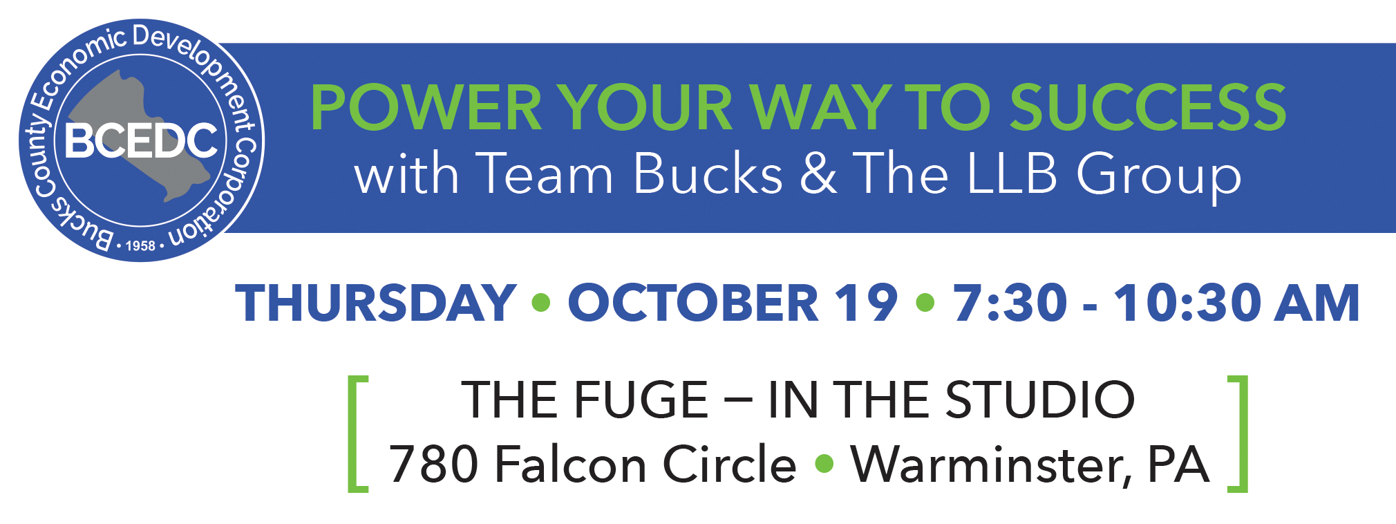 Team Bucks Small Business Resources Event